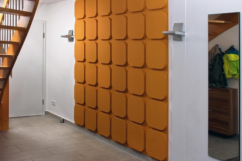 Mehr Pep Im Wohnraum Mit 3D Wandgestaltung.